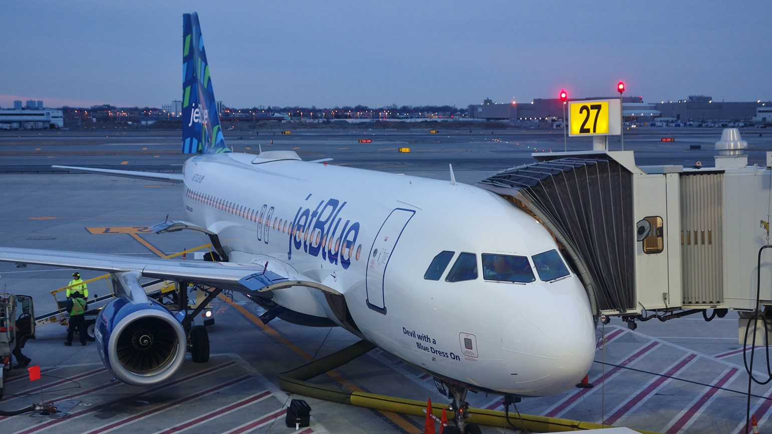 JetBlue at JFK