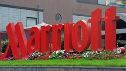 Marriott sign [Credit: Andrea Delbo/Shutterstock.com]