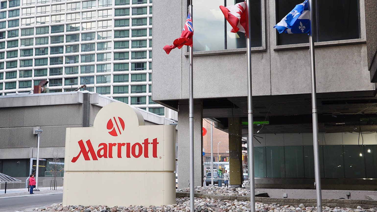 Marriott reports data breach