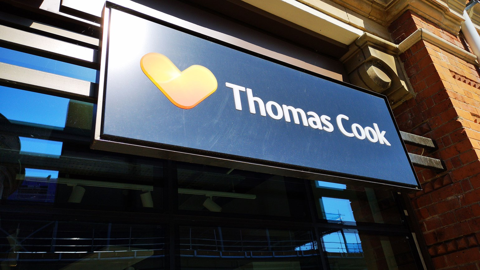 Thomas Cook seeks funding to keep company afloat