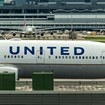 United 777 in Hong Kong