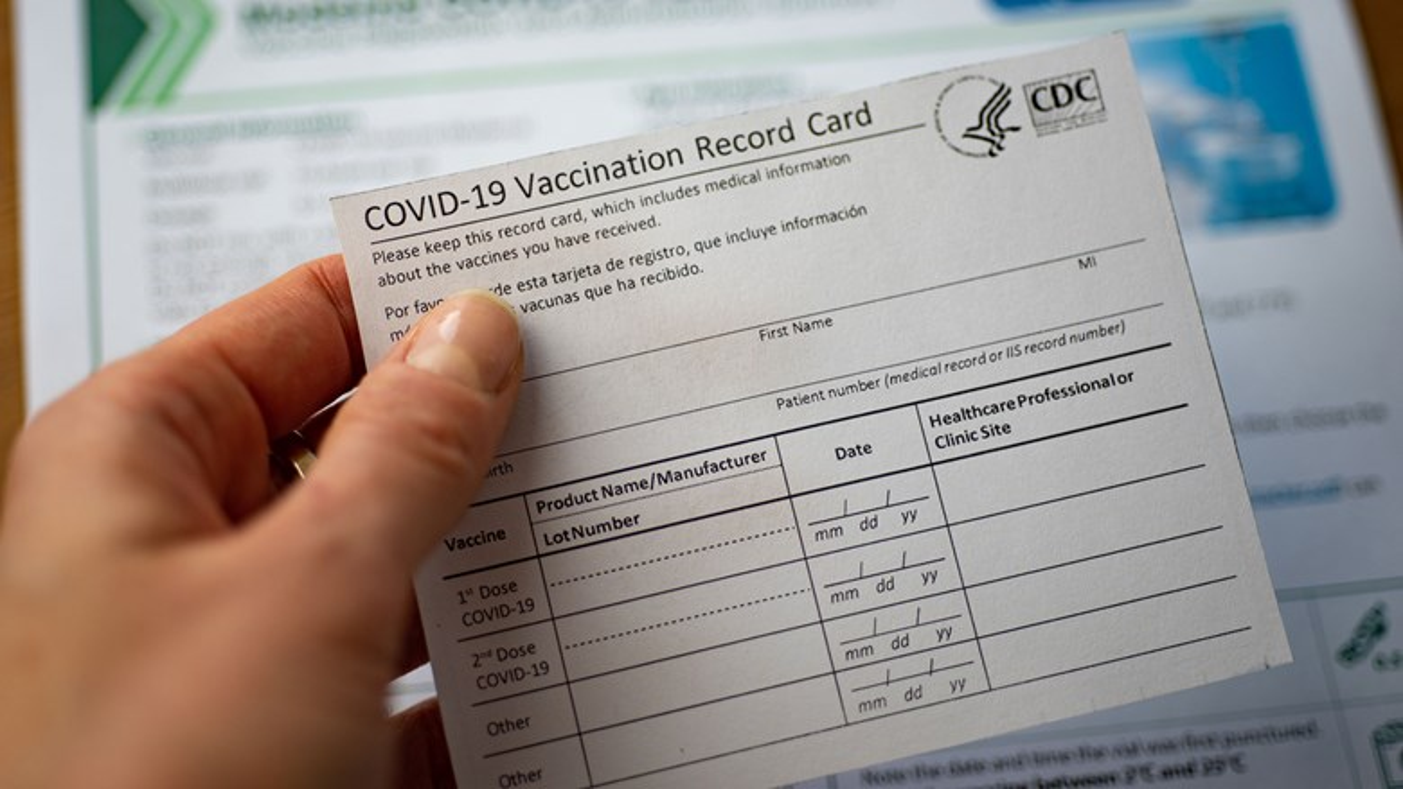 Vaccine record covid [Credit: Evgenia Parajanian/Shutterstock.com]