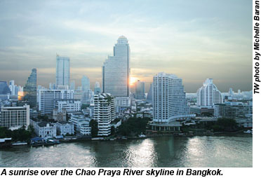 Chao Praya River skyline