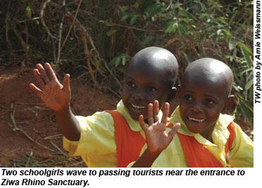 Uganda schoolgirls