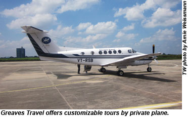 Greaves Travel private plane