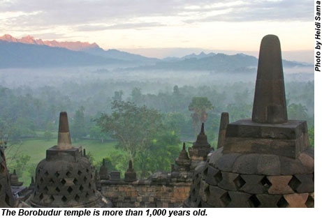 Java Borobudur Temple