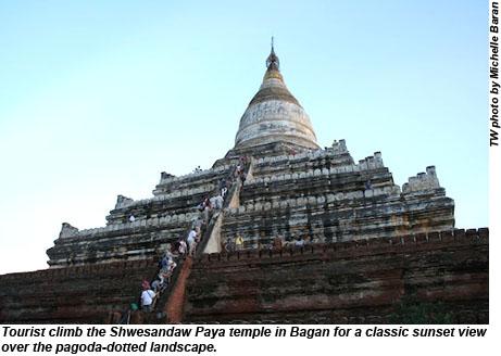 Shwesandaw Paya temple