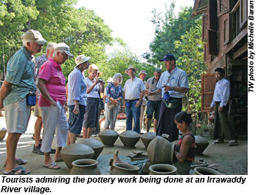Myanmar Irrawaddy River Pottery