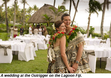 Outrigger on the Lagoon Fiji wedding
