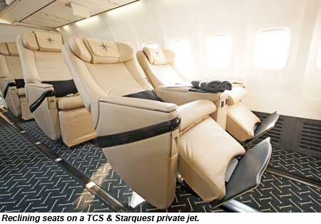 TCS Starquest private jet