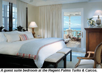 Regent Palms Turks Caicos room