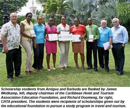 Antigua and Barbuda scholarship students