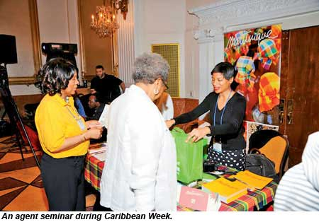 An agent seminar during Caribbean Week.