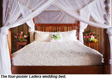 Ladera Wedding Bed