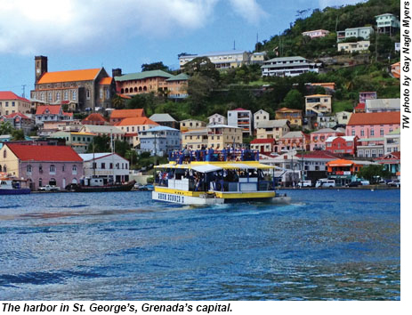 St. Georges Harbor, Grenada