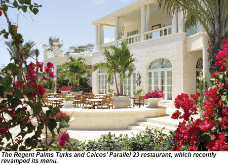 Regent Palms Turks and Caicos Parallel 23 Restaurant