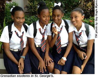 Grenada-Students-StGeorges-GNM