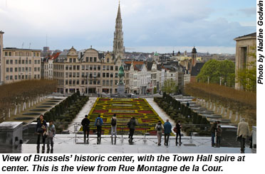 Brussels, Old City overview