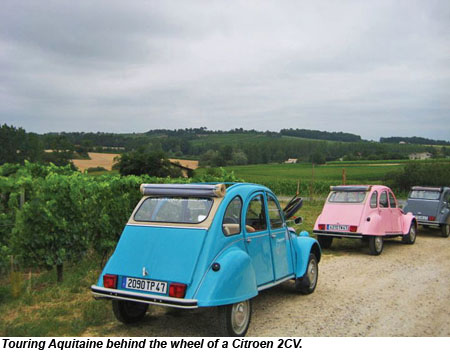 France Aquitaine Citroen 2CV