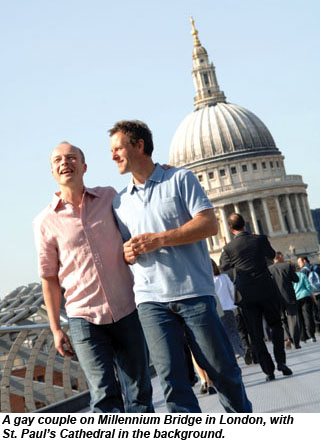Gay couple in London Moreover, industry players note that LGBT consumers ...
