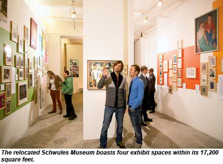 The Schwules Museum, or Gay Musuem, in Berlin.