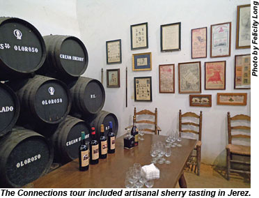 Spain Sherry tasting in Jerez