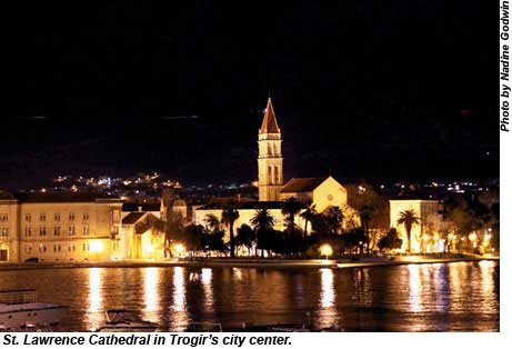 St. Lawrence Cathedral in Trogir, Croatia