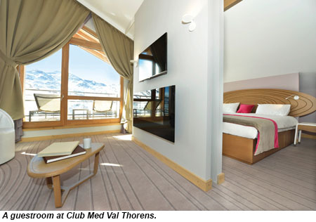 club med opens new french alps resort travel weekly. Black Bedroom Furniture Sets. Home Design Ideas