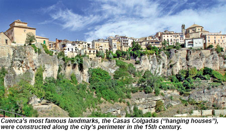 Casas Colgadas, Or Hanging Houses, In Cuenca, Spain