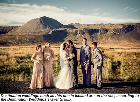 Destination wedding in Iceland.