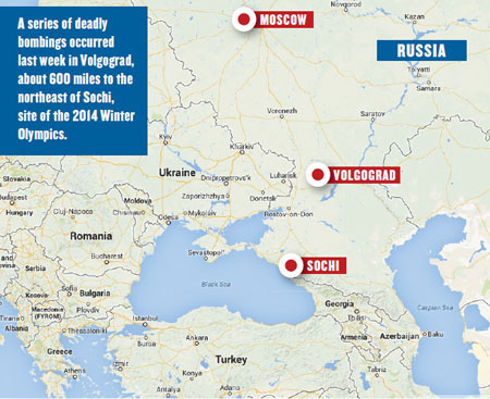 Sochi Olympics A Tough Sell Even Before Volgograd Bombings Travel - Sochi map