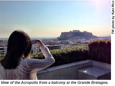 Athens-View Acropolis