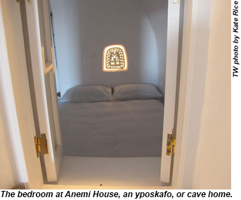 Bedroom at Anemi House