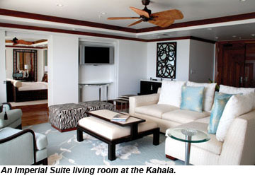 An Imperial Suite at the Kahala