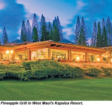 Pineapple Grill Kapalua Resort