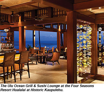 Four Seasons Resort Hualalai Opens Ulu Restaurant