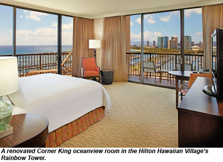 hilton hawaiian village rainbow king