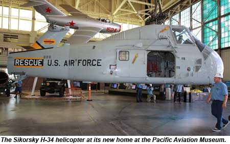 Pearl Harbor Aviation Museum Adds Military Chopper To