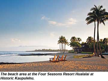 Four Seasons Hualalai beach