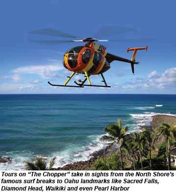 Magnum P I S Chopper Flying Again Over Oahu Travel Weekly