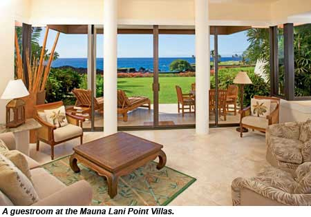 a guestroom at Mauna Lani Point Villas