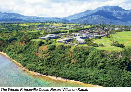 The Westin Princeville Ocean Resort Villas on Kauai