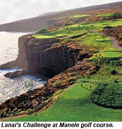 Lanai Challenge at Manele golf course