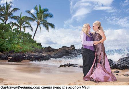 first same sex marriage in hawaii in Weybridge