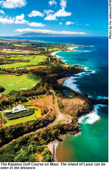Kapalua Golf Course on Maui.