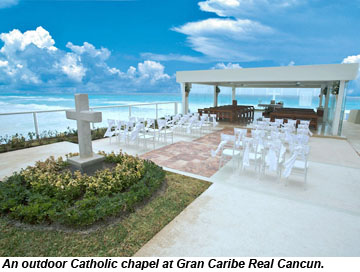Gran Caribe Real Cancun catholic chapel