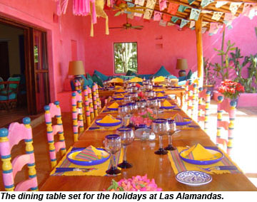 Las Alamandas Holiday Dining