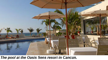 Oasis Sens Cancun Pool