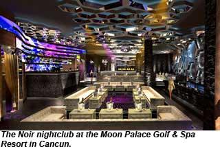Palace Resorts Unveils Noir Nightclub In Cancun Travel Weekly