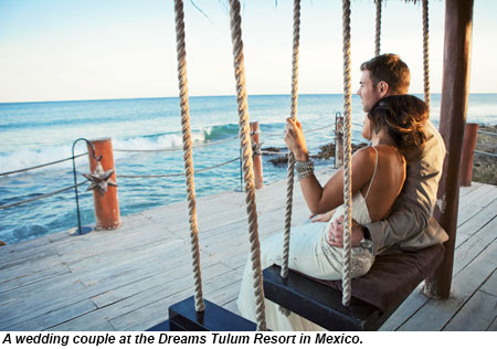 Wedding At Dreams Tulum In Mexico